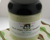 Gudonya Salty DAWG Cream Shampoo (tm) - Spa Fusion Scent --- vegan --- NEW 8oz JAR
