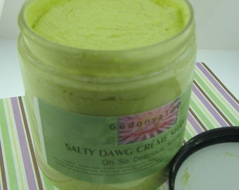 Gudonya Salty DAWG Cream Shampoo - Oh So Delicious Scent - vegan - 8oz JAR, bath beauty,bath body,home living,home garden