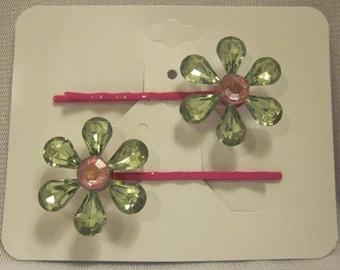 "Girls - decorative 2"" bobby pin - sets"