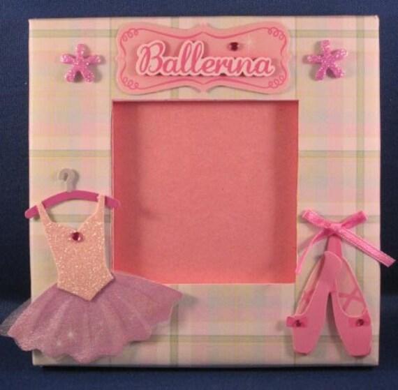 Ballerina/Princess/Dancing Photo Frame - Mini