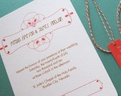 TWINE COLLECTION- A Time of Celebration- invitation