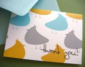 Featured on PARENTS.COM So Nice of You- Thank You cards set of 6