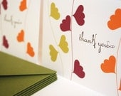 Vines- thank you cards, set of 6