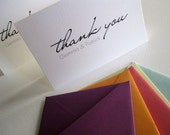 Personalized Thank You cards- set of 50