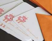 Robot- personalized stationery