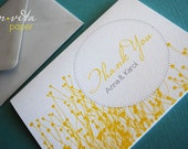 How Sweet- personalized thank you cards, set of 20