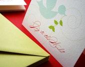 Joy to the World- single greeting card