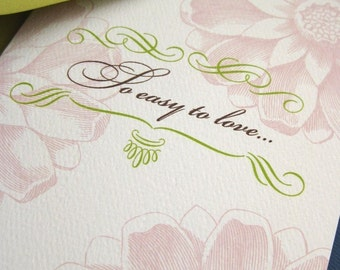 So Easy to Love- Mothers Day card