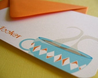 Design 02- Personalized Stationery Set of 8