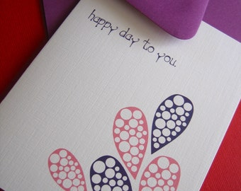 Happy Day to You- Single Card