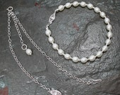 Pearls & Sterling Silver as a Necklace or a Bracelet -- Decisions Decisions