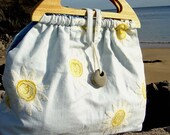 BARAFUNDLE BAG - Sky BLue Daisies