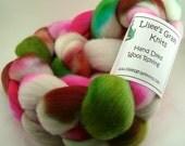 Roving, spinning, felting , wool, wool roving, batt, fleece, alpaca wool, fiber - Tulips
