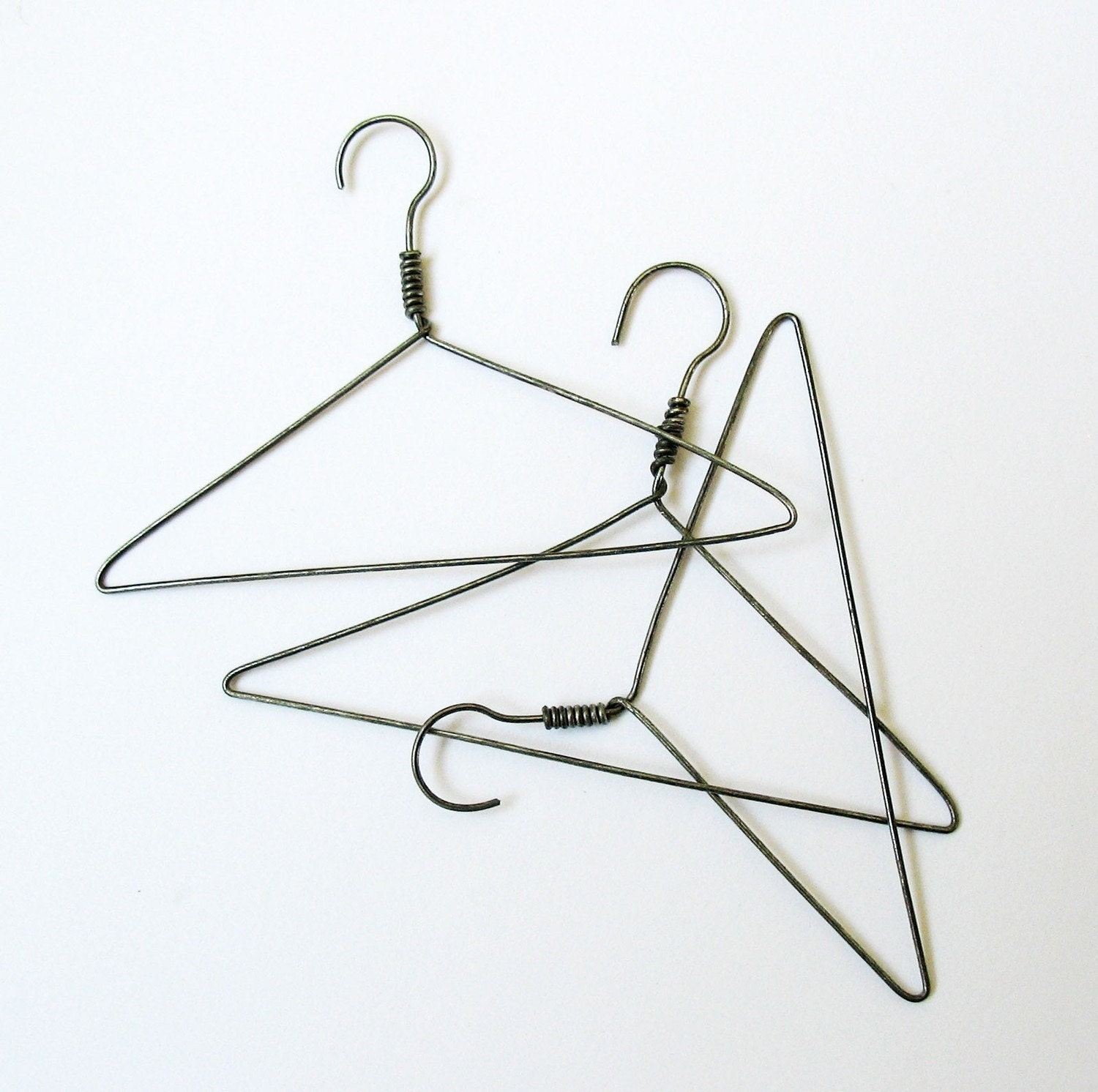 Mini Wire Hangers By Cardblanc On Etsy