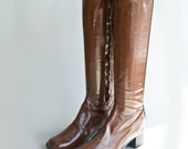 Vintage 1970s go go boots size 6