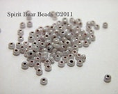 Ceylon Gray Opaque Czech Seed Beads size 11/0 lot of 20 grams