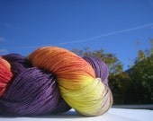 sock yarn, sunny colors