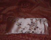 Reiki Infused Eye Pillow and Case/ Pink Cherry Blossom with Lavender