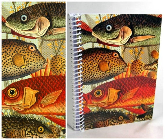 30 Percent Discount - Marine Fish and Algae - Plain Notebook (5 x 7)