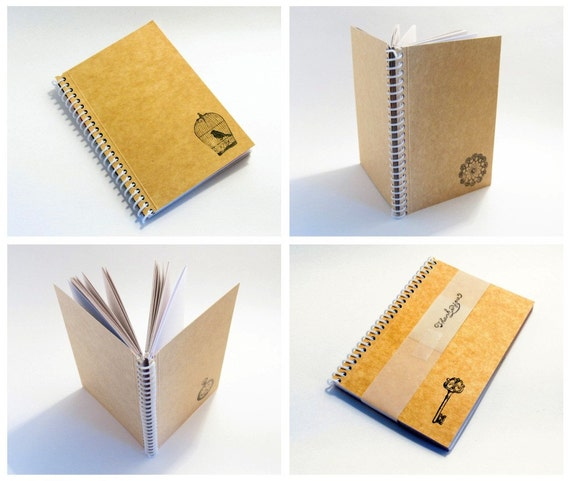 Wholesale - Set of 4 Pocket Eco Notebooks (4x6)