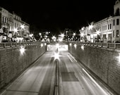 Connecticut Ave NW DC Black and White Print - 8x10