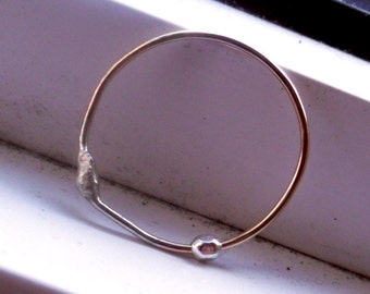 RESERVED LISTING - TWO Simply Skinny Spinnerette Rustic Organic  Stacking Fidget Rings