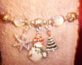 Christmas Charm Bracelet(SALE)