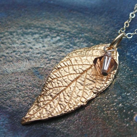Lovely Leaf Necklace