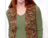Vest Knitting Pattern, Bulky Yarn, Easy