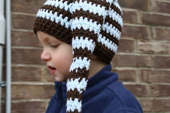 PDF Pattern for Crocheted Stocking Hat (Sizes newborn, 0-3m, 3-6m, 6-9m, 9-12m & 12-24m) Instant Download