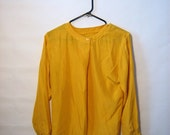 Sale Vintage Mango Silk Blouse