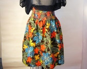VINTAGE Hawaiian Skirt One Size