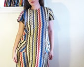 Vintage Fake Missoni Dress- Large