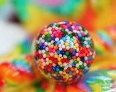 THE ORIGINAL - BIG Sprinkles - Resin Candy Ring (rainbow)