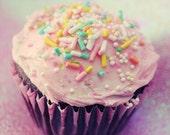 Pink Cupcake - Fine-Art Print - 5x5