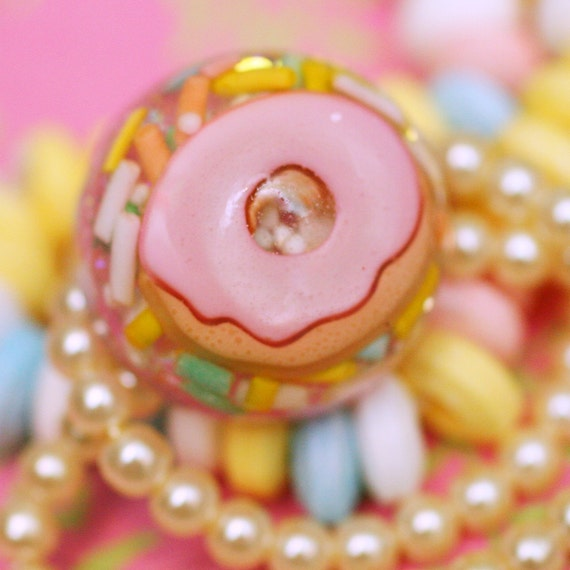 Mmm Donut - Resin Candy Ring