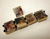 Scrabble tile SixTeen Candles Bracelet and Ring SET