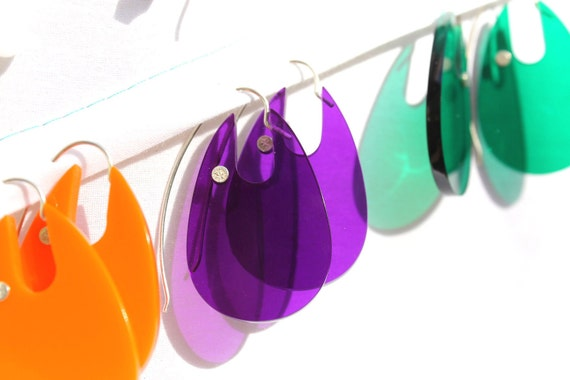 RESERVED 4 MsVicky Metro 02 earrings, Pick your favorite color