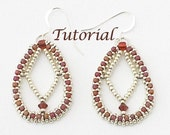 Beaded Earrings Tutorial Diamond Dreams Digital Download