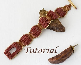 Beaded Bracelet Tutorial Picante Digital Download