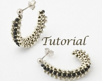 Beaded Earrings Tutorial Wireless Digital Download