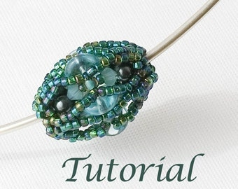 Beaded Bead Tutorial  Lagoon (Advanced) Digital Download