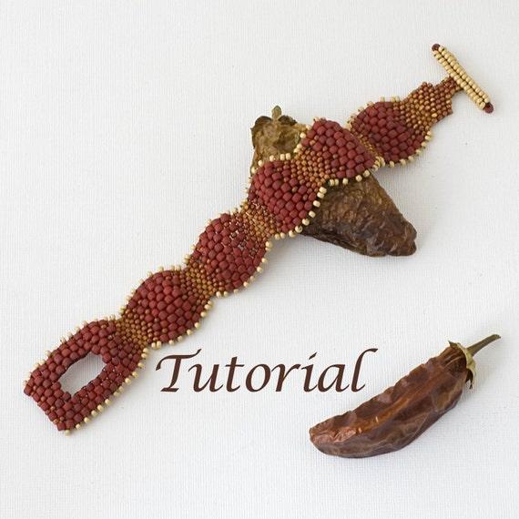 Beaded Bracelet Tutorial Picante Digital Download