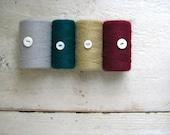 Vintage Yarn Spools - Set of 4