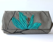 Turquoise Clutch - ShibangDesigns