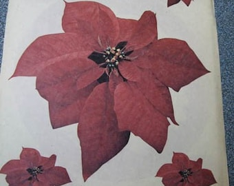 Vintage Iron-Ons - Poinsettia