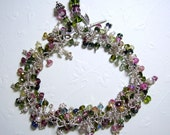 Greens and Pinks Oh My Tourmaline Bracelet