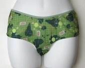 Globe Trotting Panty Set - Size Xlarge