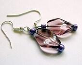 Lovely lavender earrings