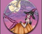 Zoe 2 1/4 Button - by Nikki Burnette